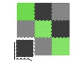 Eva zeleno černá
