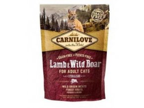 Carnilove Cat Lamb & Wild Boar Adult Sterilised