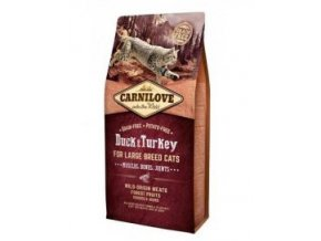 Carnilove Cat LB Duck&Turkey Muscles,Bones,Joints