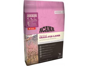 acana dog grass fed lamb singles