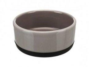 Keramická miska s gumovovým okrajem