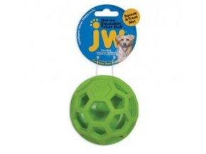 JW Hol-EE Děrovaný míč pískací - Treat N Squeak