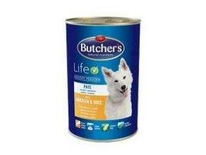 Butcher's Dog Life s kuřecím masem a rýží konz. 1200g