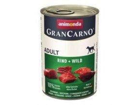 GRANCARNO Adult - hovězí + zvěřina