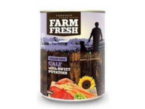 Farm Fresh Dog Calf with Sweet Potatoes konzerva