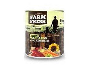 Farm Fresh Dog Kangaroo with Cranberries konz