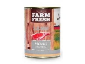 Farm Fresh Dog Monoprotein konzerva Lamb