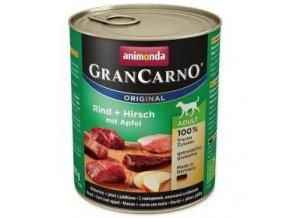GRANCARNO Adult - jelení maso + jablka