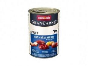 GRANCARNO Adult - uzený úhoř + brambory