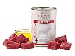 Nuevo pes Sensitive Hovězí Monoprotein 400g
