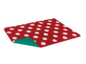 VetBed červená bílé bodky