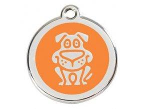 RD pes oranžový