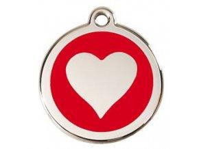 RD srdce červené