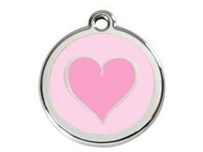 RD srdce růžové