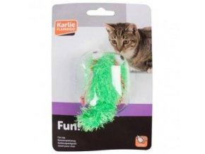Hračka kočka Had vrtící se 4x17cm KAR