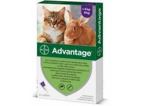 Advantage pro velké kočky a králíky 80mg 1x0,8ml