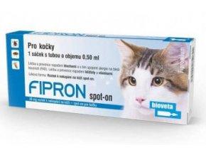 Fipron 50mg Spot-On Cat sol 1x0,5ml