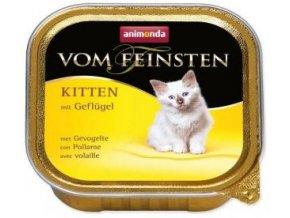 Animonda paštika Kitten drůbeží 100g