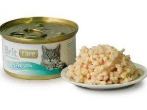 Brit Care Cat konz Kitten kuřecí prsa 80g