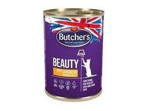 Butcher's Cat Funct. Beauty kousky lososa v želé 400g