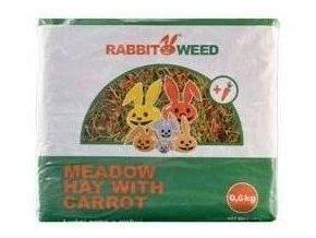 Seno luční s mrkví RabbitWeed
