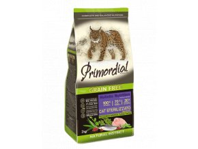 PRIMORDIAL Cat Sterilizzato Turkey&Herring 2kg