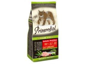 PRIMORDIAL Cat Urinary Turkey&Herring 2kg