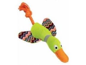 Kachna ležící 33 cm, plyš / bavlna, HipHop