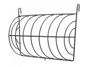 Jesličky na seno kulaté uzavřené, zavěšovací, 25x15cm, lakovaný kov