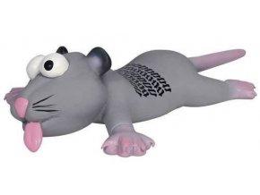 Latexový chcíplý potkan nebo myška 22 cm