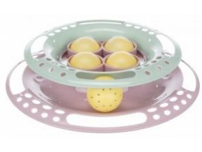 JUNIOR hračka kruh s míčky pro koťata 24 cm
