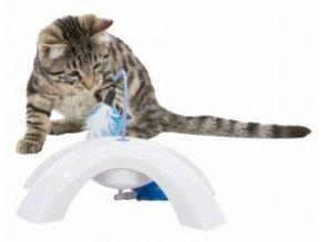 Feather Twister - plastová hračka s pohyblivými peříčky, 23x15x18cm