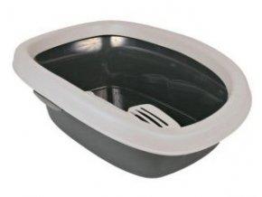 WC pro kočky CARLO 1 31x14x43cm, - šedá