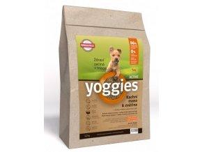 MINI Yoggies Active Kachna & zvěřina s probiotiky
