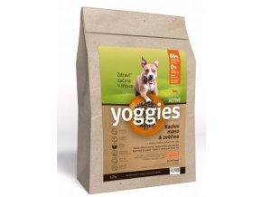Yoggies Active Kachna & zvěřina s probiotiky