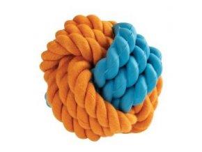 Kombinovaný Monty míč přírodní guma a bavlna 8cm HipHop