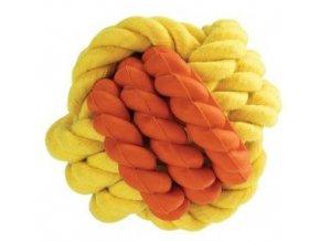 Kombinovaný Monty míč přírodní guma a bavlna 6cm HipHop