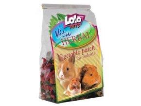 LOLOPets VITA HERBAL zeleninové plátky pro hlodavce 100 g