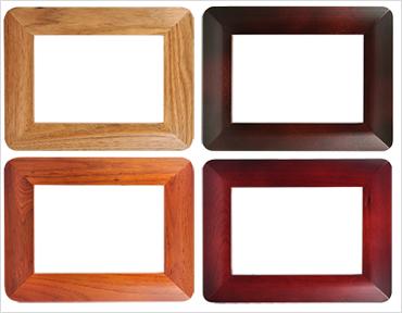 Dřevěný rámeček pro každý byteček.