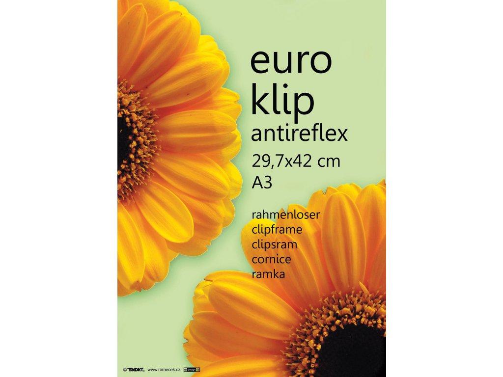 euroklip 29,7x42 A3 anti