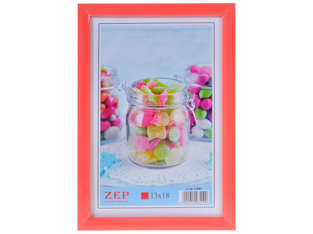 ramecek colour ruzovy 13x18