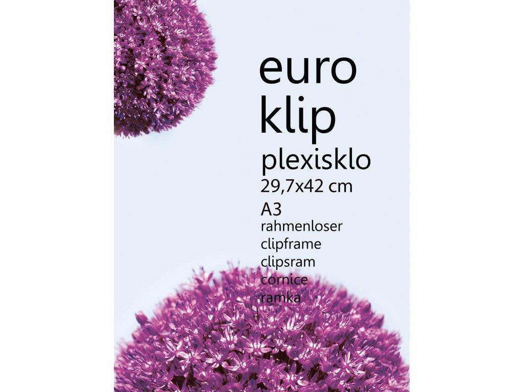 euroklip plexi 29,7x42 A3