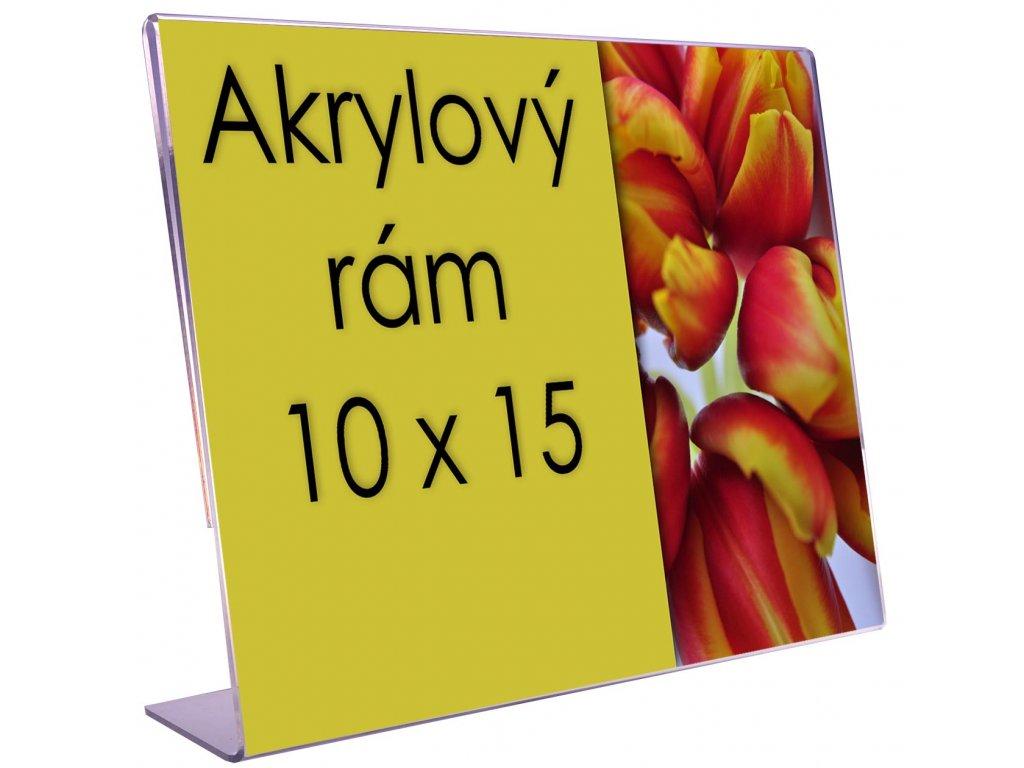 10x15 akryl akrylovy ram