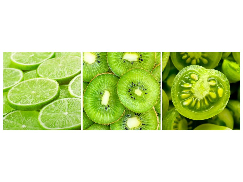 obraz zeleny 20x60