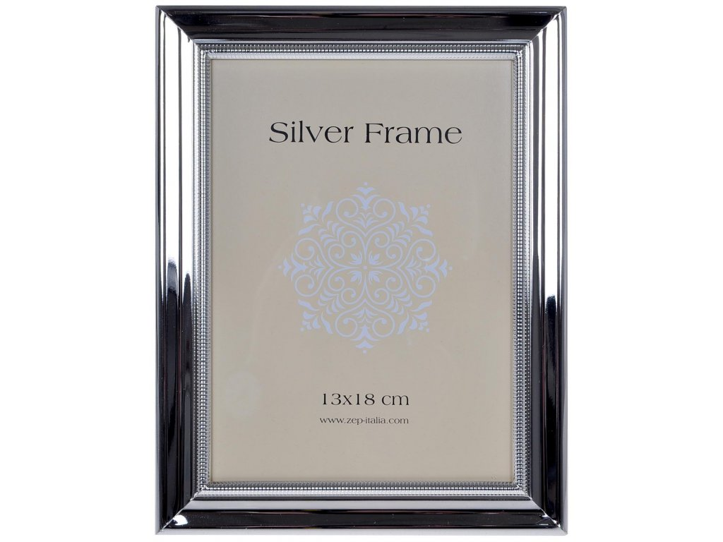 fotoramecek silver vroubek