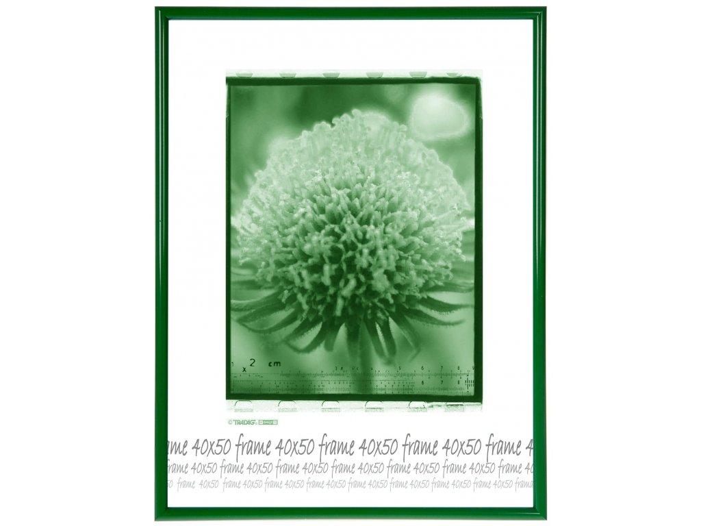 ram plast zeleny 40x50 sklo
