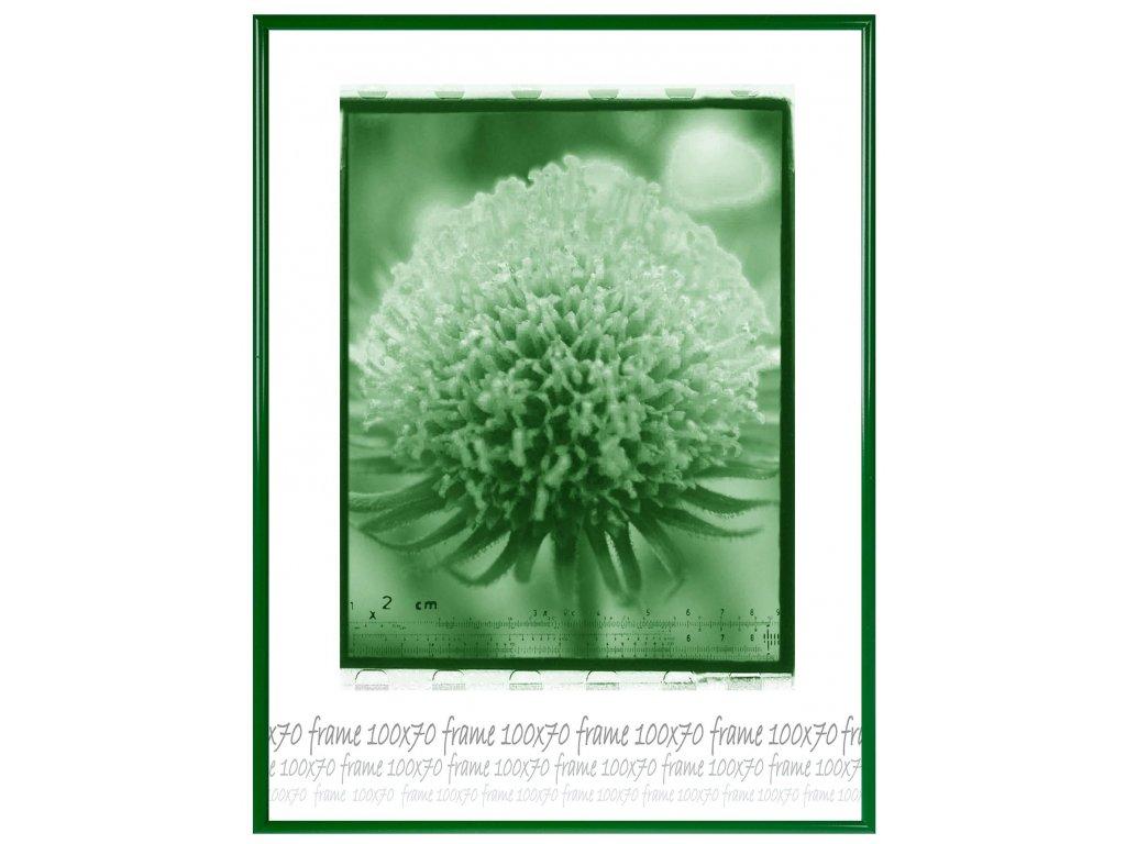 ram plast zeleny 100x70 sklo 0