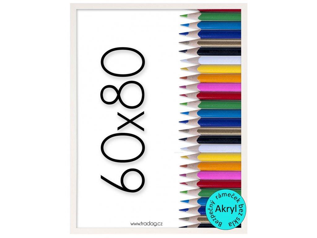 Fotorámeček Tosca 60x80 bílý