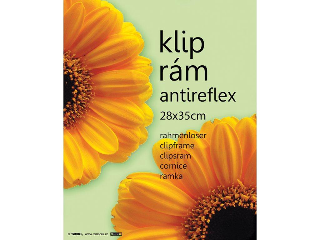 Euroklip antireflexní 28x35
