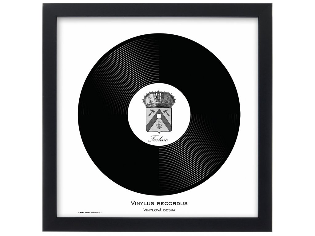 Rámeček natura černý 32x32 LP